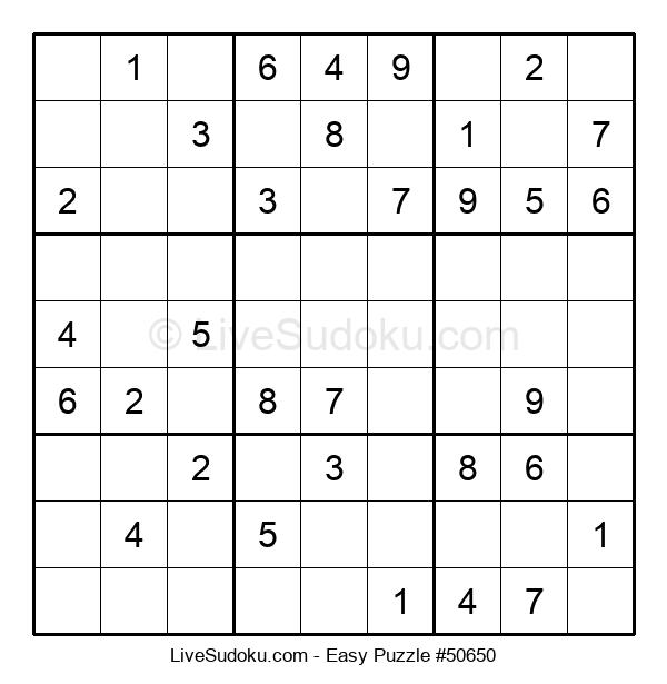 Beginners Puzzle #50650