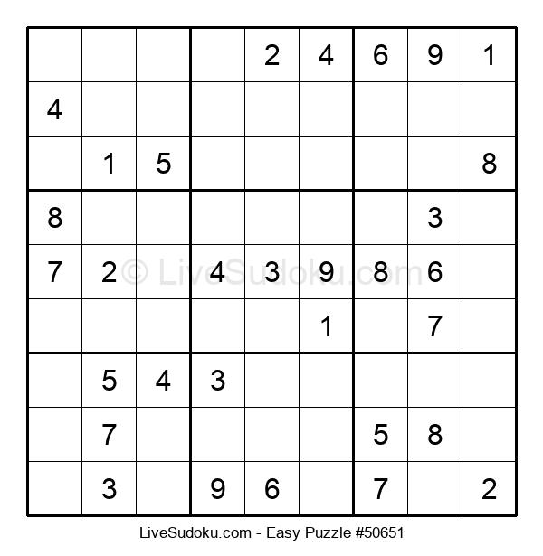 Beginners Puzzle #50651