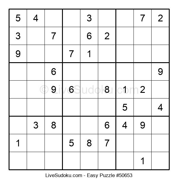 Beginners Puzzle #50653