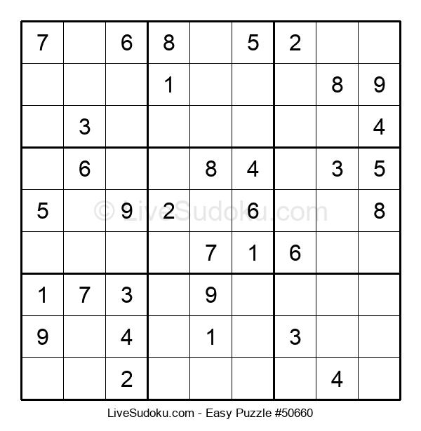 Beginners Puzzle #50660