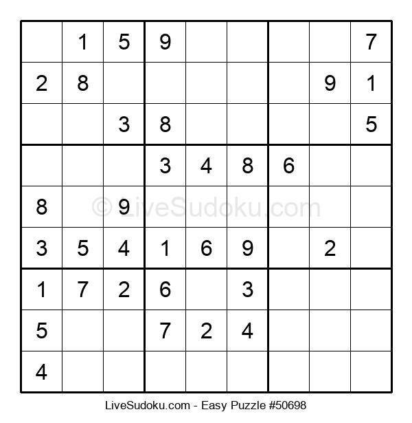 Beginners Puzzle #50698