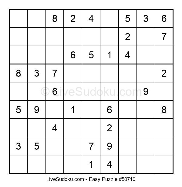 Beginners Puzzle #50710