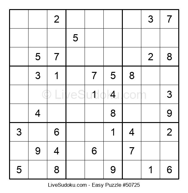Beginners Puzzle #50725