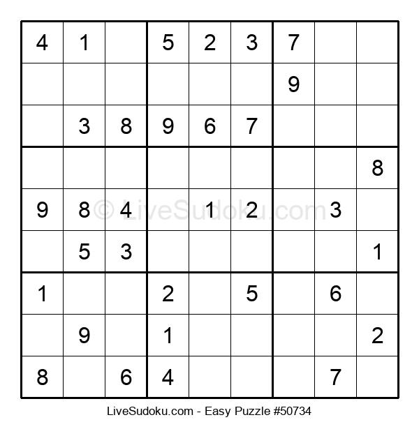 Beginners Puzzle #50734