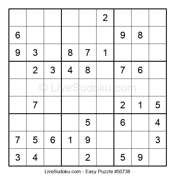 Beginners Puzzle #50738