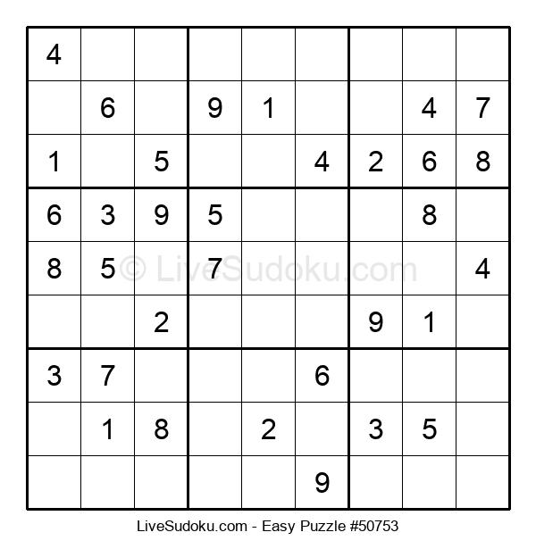 Beginners Puzzle #50753