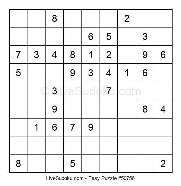 Beginners Puzzle #50756