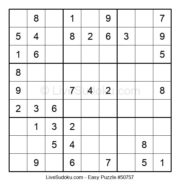 Beginners Puzzle #50757