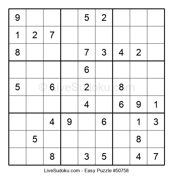 Beginners Puzzle #50758