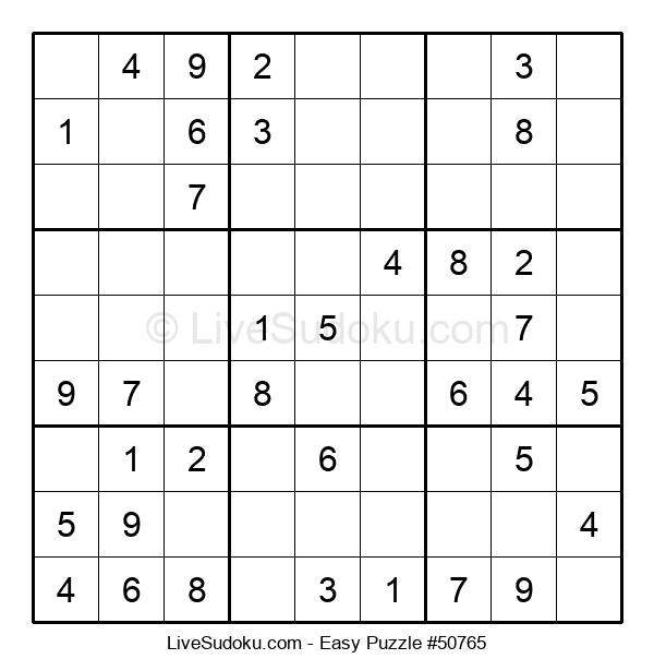 Beginners Puzzle #50765