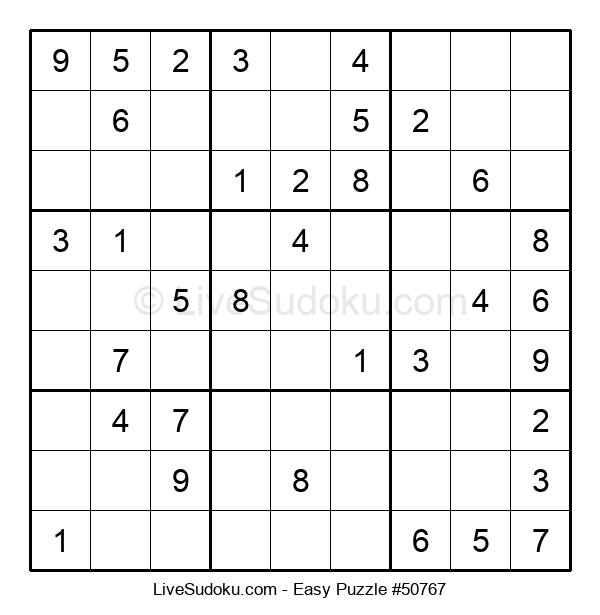 Beginners Puzzle #50767