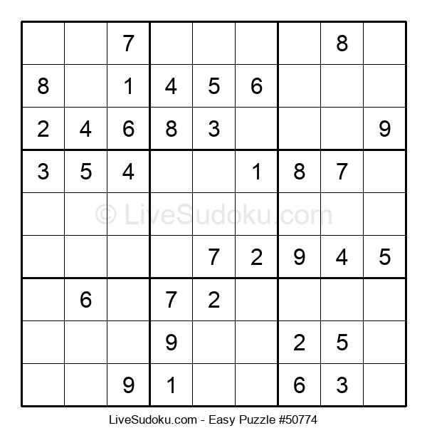 Beginners Puzzle #50774
