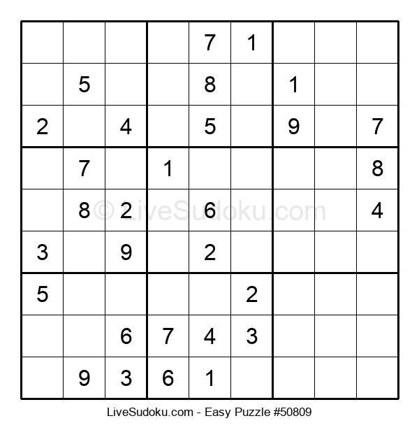 Beginners Puzzle #50809