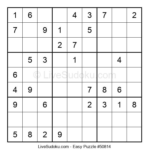 Beginners Puzzle #50814