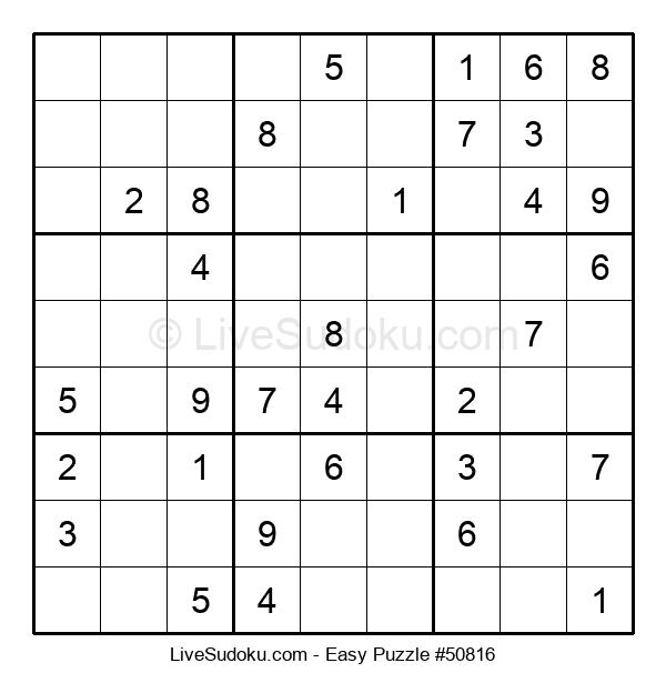 Beginners Puzzle #50816