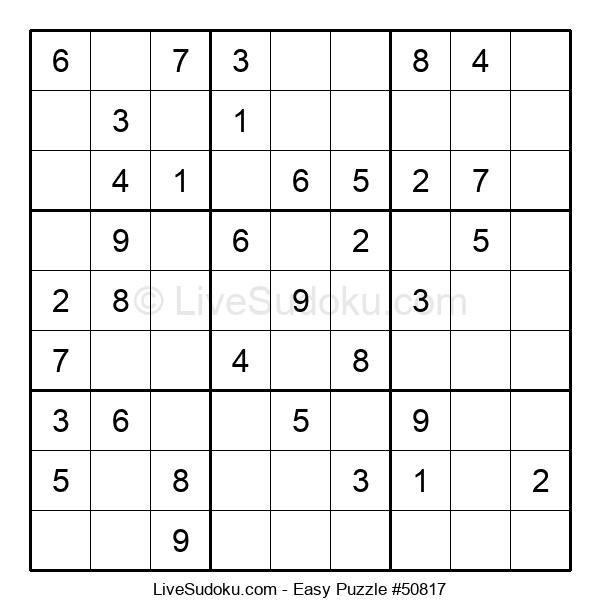 Beginners Puzzle #50817