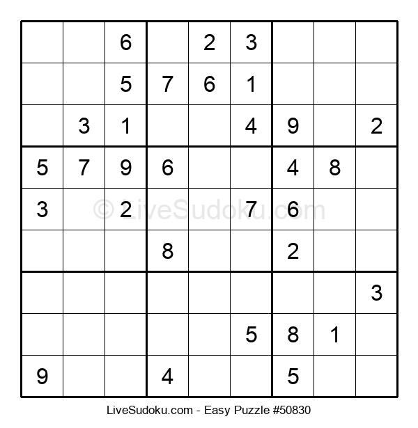 Beginners Puzzle #50830