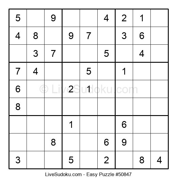 Beginners Puzzle #50847