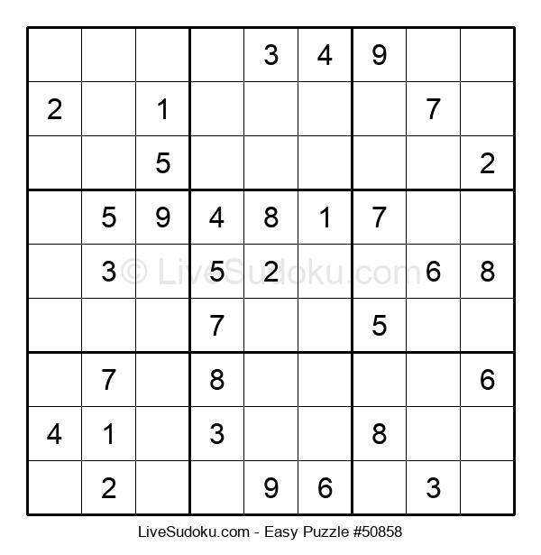 Beginners Puzzle #50858