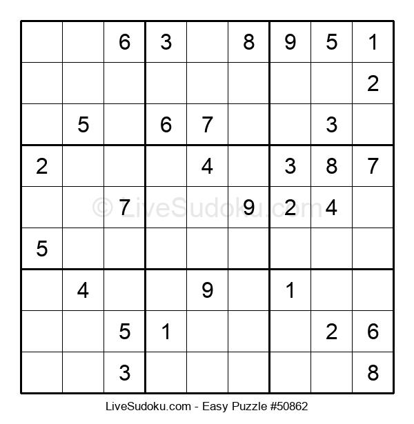 Beginners Puzzle #50862