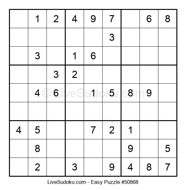 Beginners Puzzle #50868