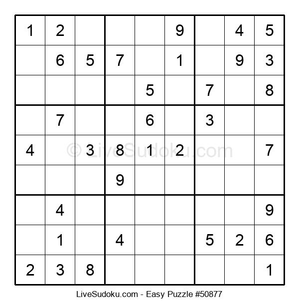 Beginners Puzzle #50877