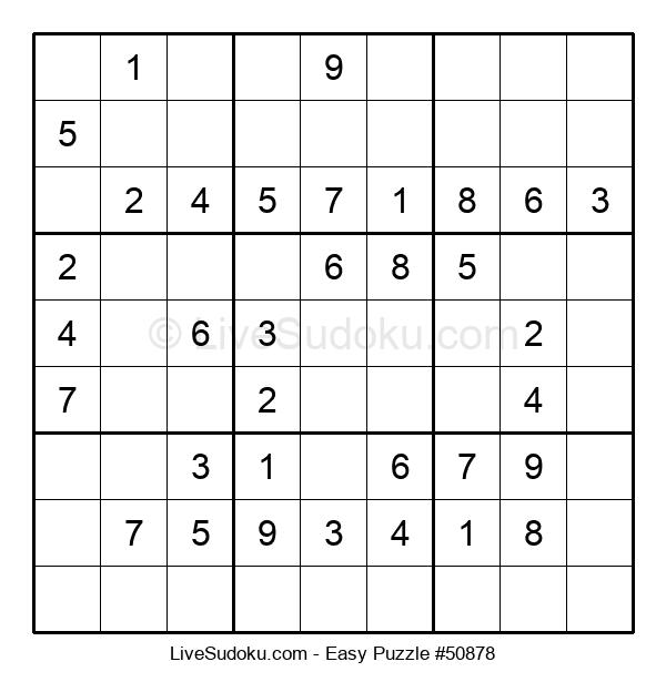 Beginners Puzzle #50878