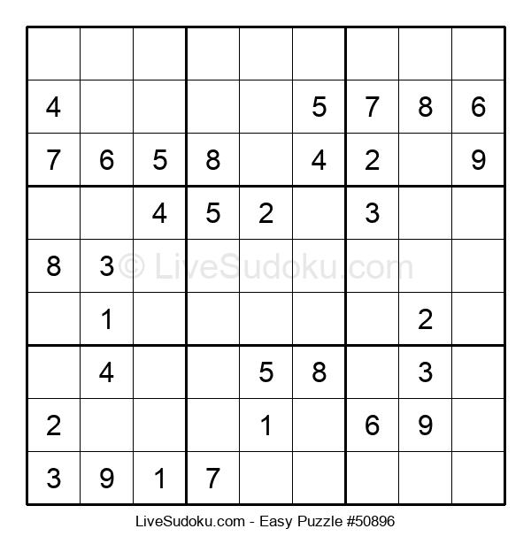 Beginners Puzzle #50896