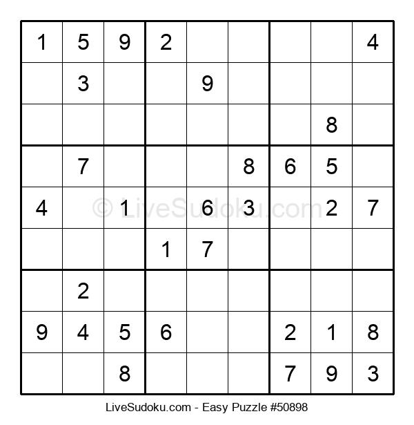 Beginners Puzzle #50898