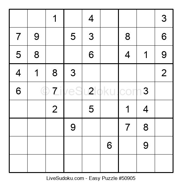 Beginners Puzzle #50905