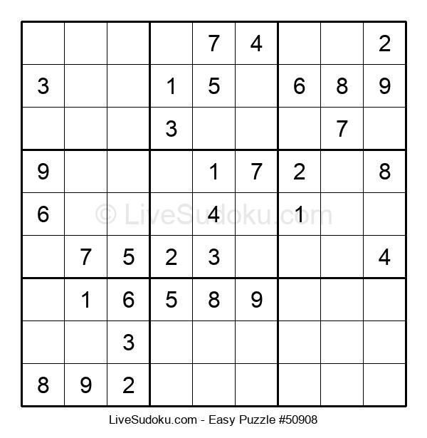 Beginners Puzzle #50908