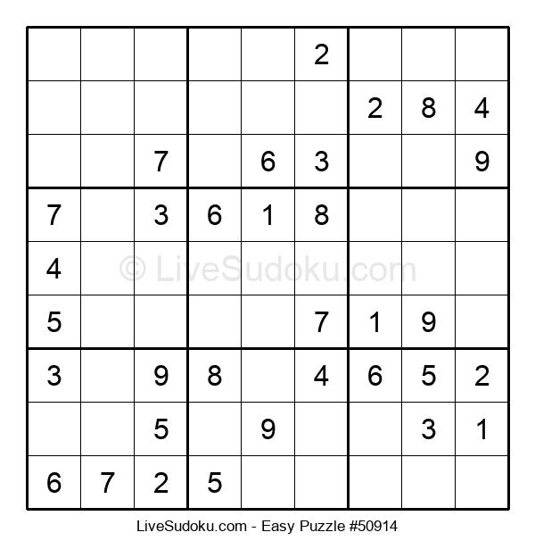 Beginners Puzzle #50914