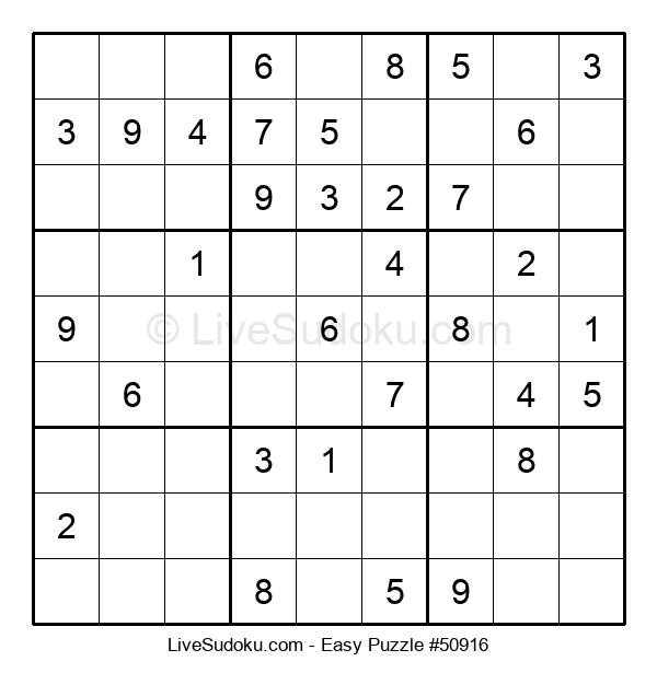 Beginners Puzzle #50916