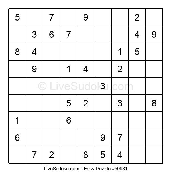 Beginners Puzzle #50931