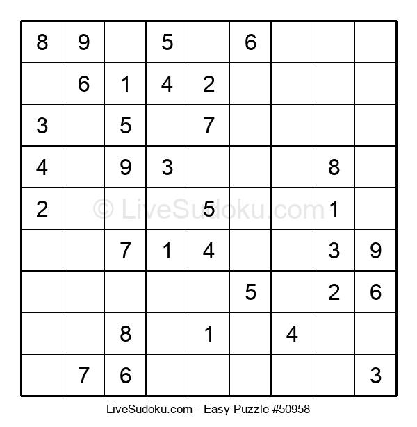 Beginners Puzzle #50958