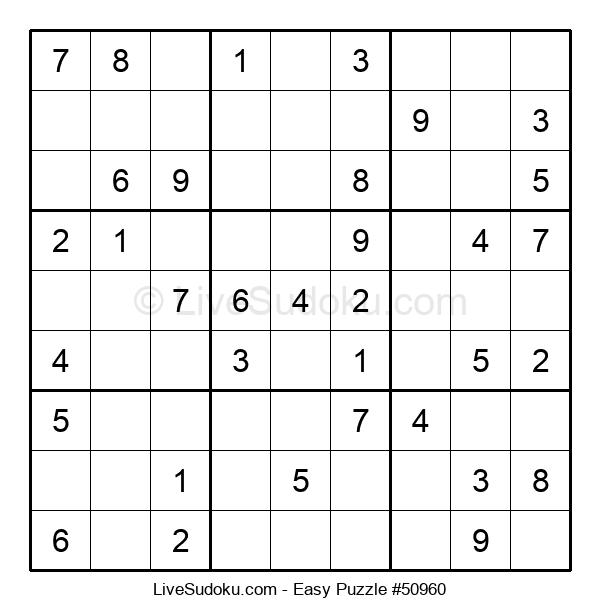 Beginners Puzzle #50960