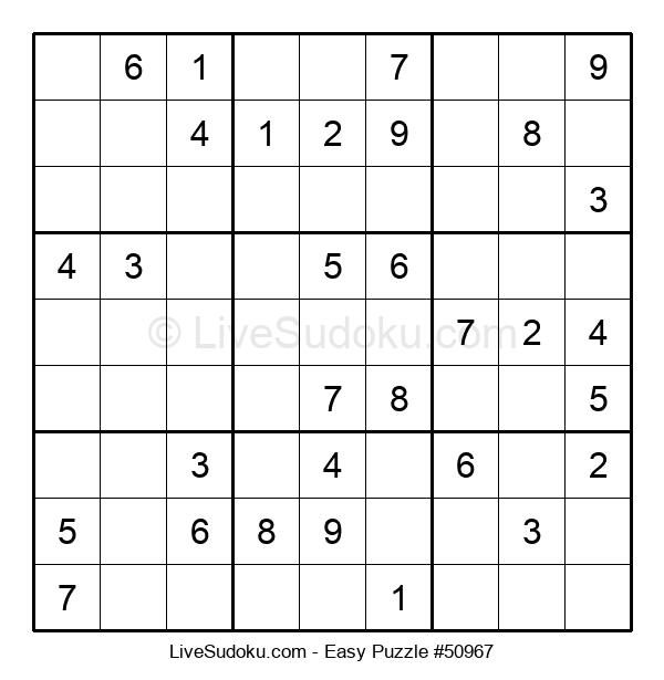 Beginners Puzzle #50967