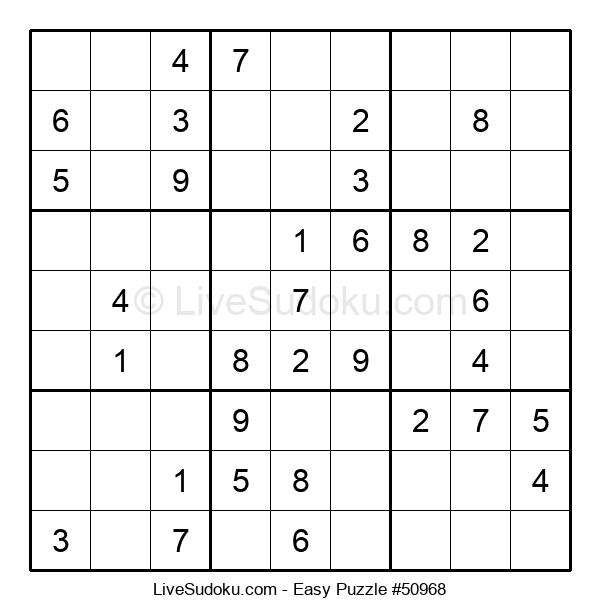 Beginners Puzzle #50968