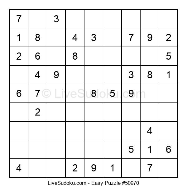 Beginners Puzzle #50970