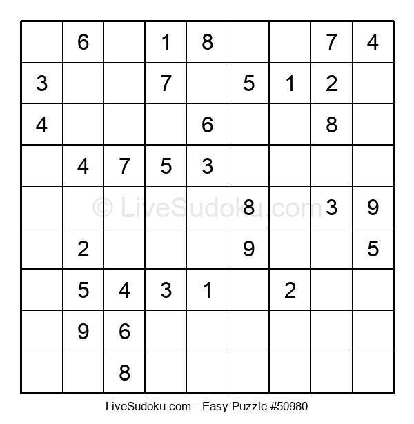 Beginners Puzzle #50980