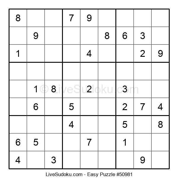 Beginners Puzzle #50981