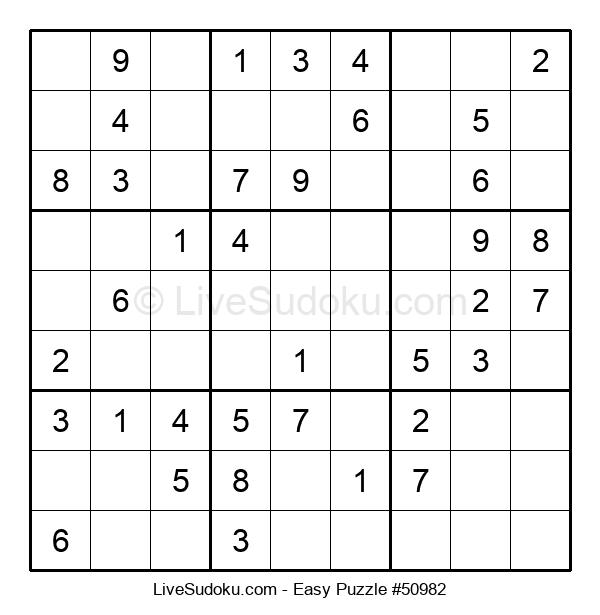Beginners Puzzle #50982