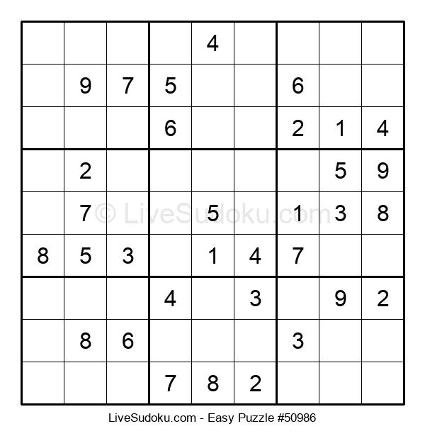 Beginners Puzzle #50986