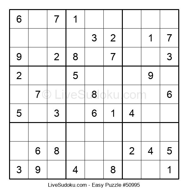 Beginners Puzzle #50995