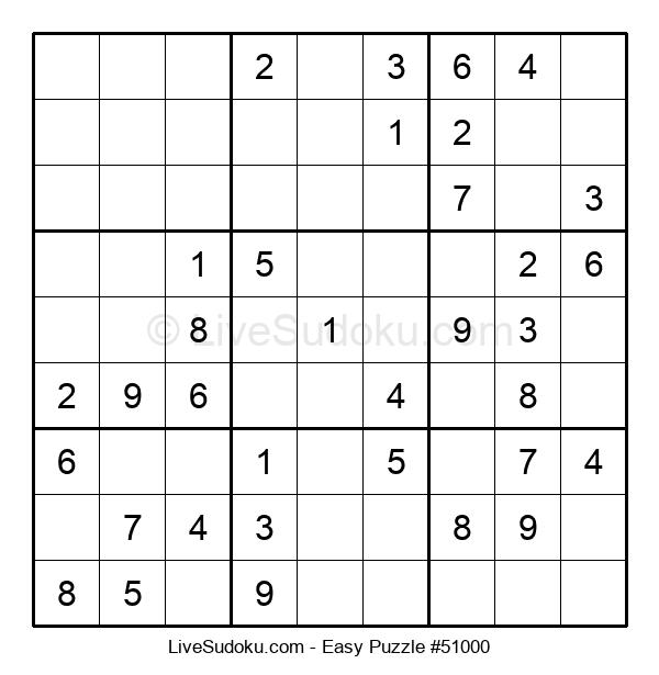 Beginners Puzzle #51000