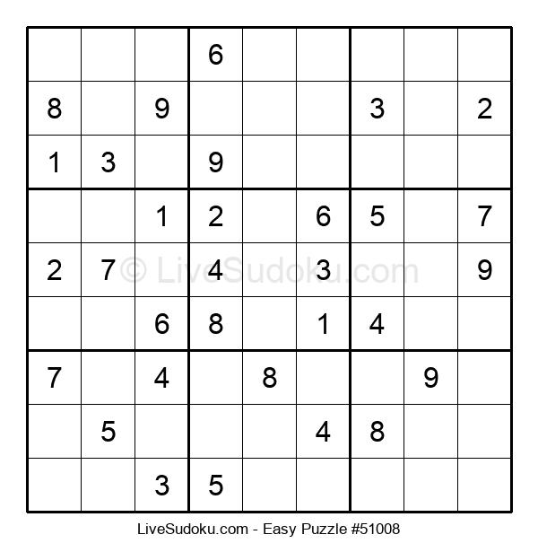 Beginners Puzzle #51008
