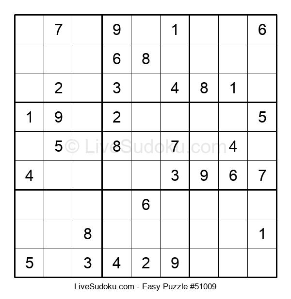 Beginners Puzzle #51009