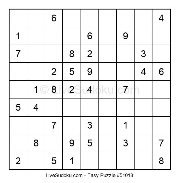 Beginners Puzzle #51018