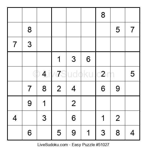 Beginners Puzzle #51027