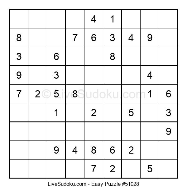 Beginners Puzzle #51028